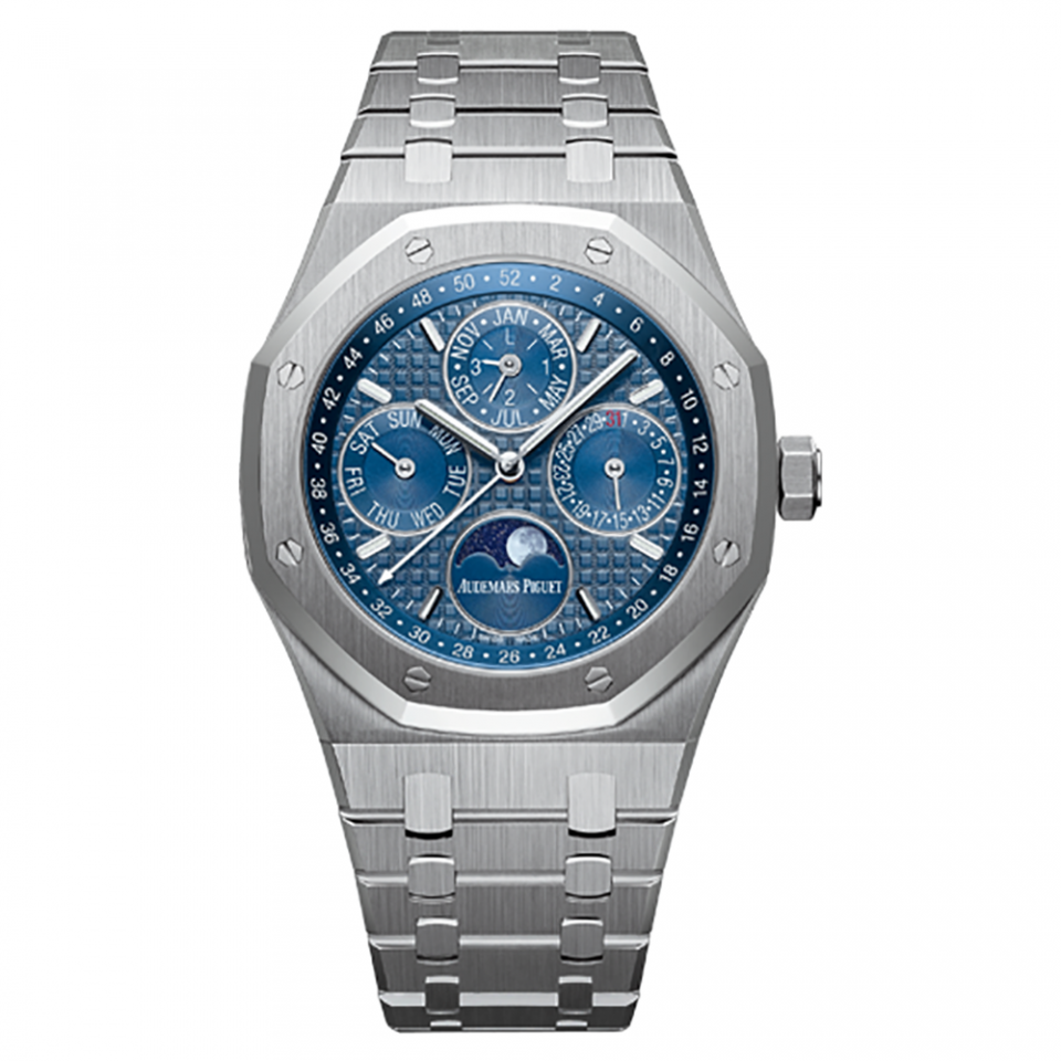 Audemars Piquet Royal Oak Perpetual Calendar Blue Dial