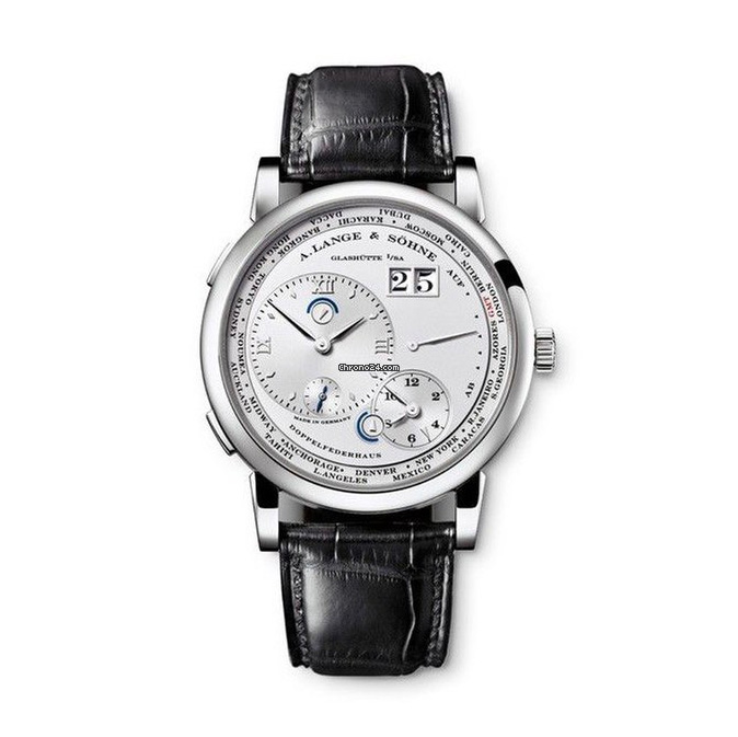 A. Lange and Sohne Lange 1 Time Zone - German dial