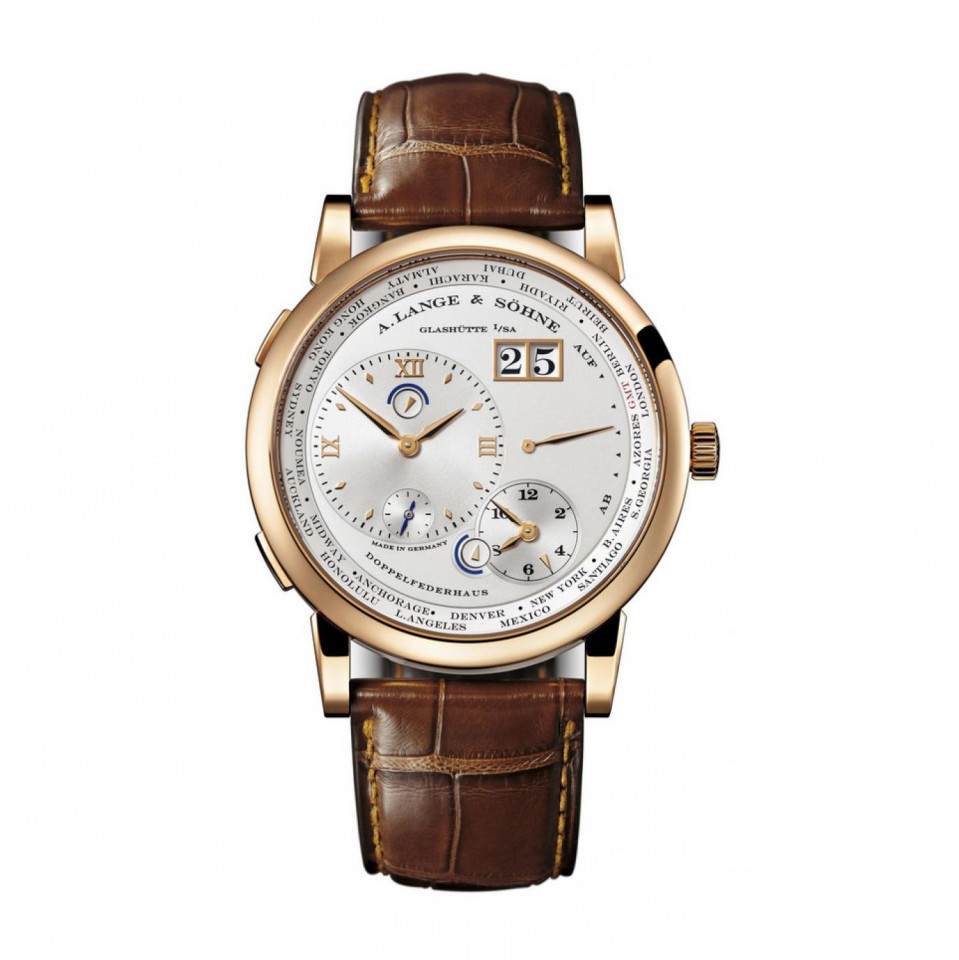 A. Lange and Sohne Lange 1 Time Zone