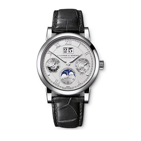 A. Lange and Sohne Saxonia Annual Calendar Moonphase