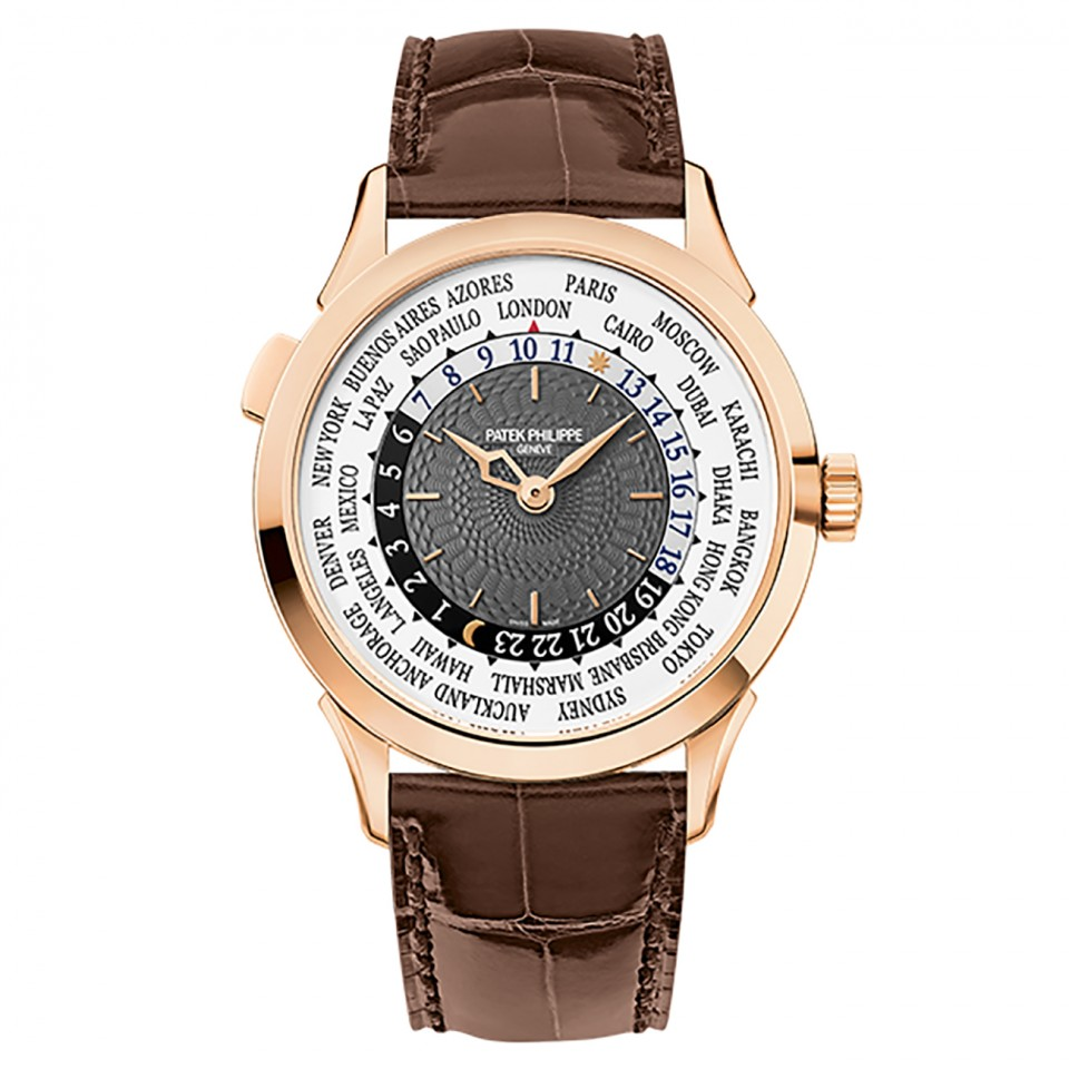 Patek Philippe Complications Charcoal Gray Arabic Rose Gold