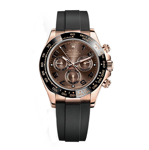Rolex Cosmograph Daytona Chocolate Dial Rose Gold