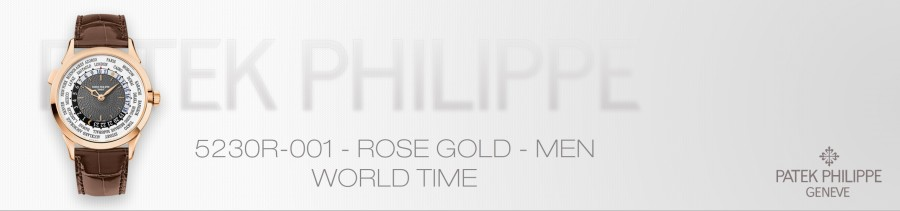 Patek Philippe World Time watch Ref. 5230